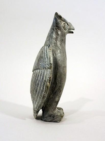 Joe Talirunili, Standing owl c. 1965, Stone