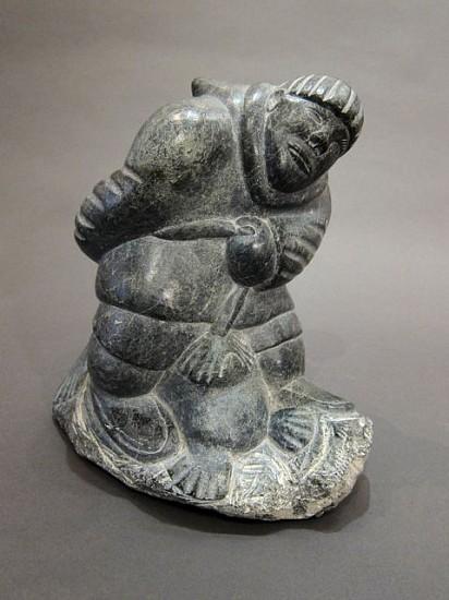 Daniel Oweetalook, Hunter with seal Stone