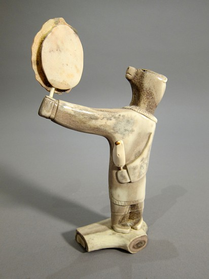 Guy N., Bear drum dancer 2008, Antler
