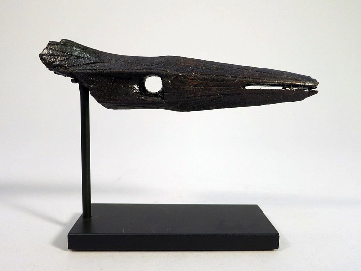 Alaskan Antiquities Anonymous, Decorated harpoon point OBS, Fossilized ivory