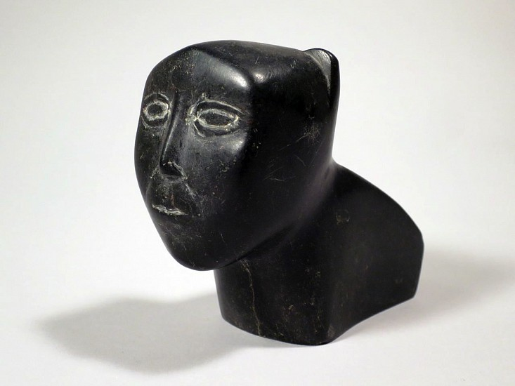 Audla Pee, Container in the form of a human-animal transformation c. 1950-55, Stone
