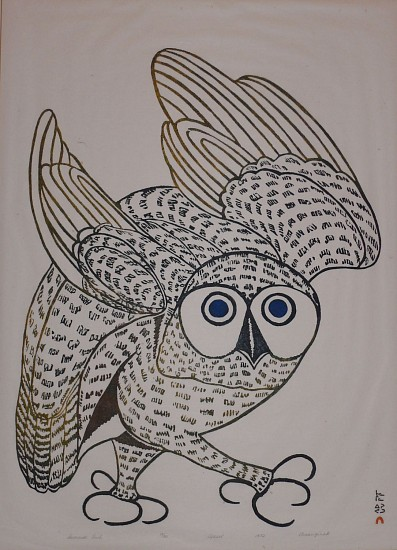 Kananginak Pootoogook, Summer Owl